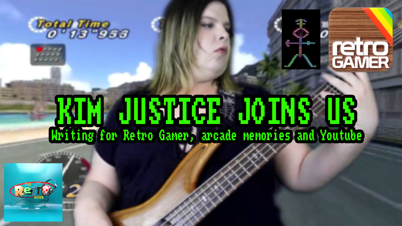 The Retro Hour EP44 – Kim Justice From Retro Gamer Magazine and
