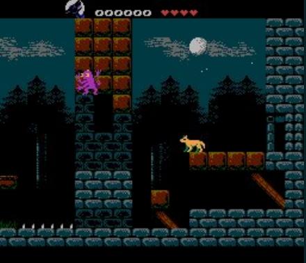 Wolfling Zero v2018 05 11 (WIP) (NES Game) › Nintendo Entertainment
